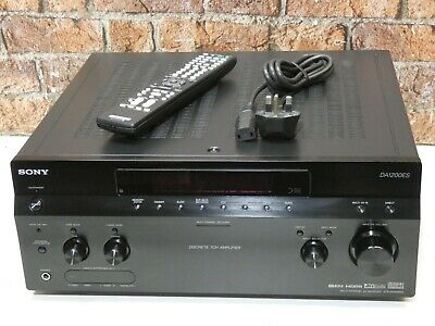 Sony STR-DA1200ES Dolby 7.1 Channel 2 HDMI Input Integrated Amplifier Receiver