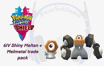 Pokemon Sword And Shield Shiny/Non-Shiny 6IV Melmetal And Meltan Trade Guide