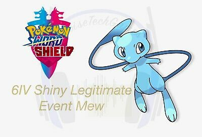 Pokémon Sword And Shield Shiny Timid 6IV Event Mew Trade Strategy Guide