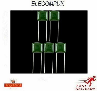 1-10 Pcs. 5/% TOLERANCE 30 VALUES 470 nf POLYESTER CAPACITORS 100V 470 pf