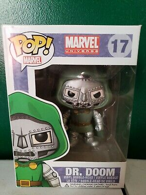 Funko Pop! Marvel Universe Dr. Doom #17 Vaulted.
