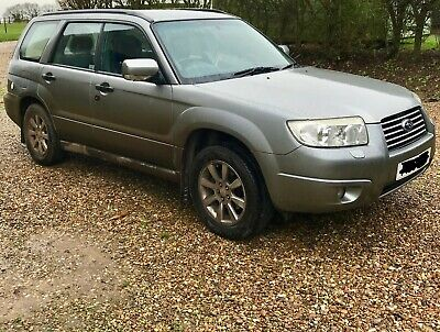 Subaru Forester XEN LPG conversion for spares or repair