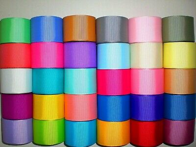"Grosgrain Ribbon Wholesale 30 Yards Solid Colors 1.5 "" 1 1/2"" Inch. Ref.c1"