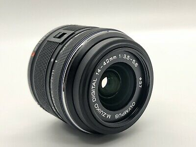 Olympus M.Zuiko Digital ED 14-42mm Lens - Black