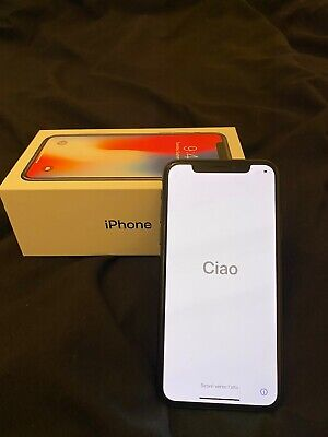 Apple iPhone X - 64GB - Space Grey (Unlocked) A1901 (GSM) *EXCELLENT CONDITION*