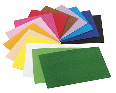 Faibo 944490 - Pack of 10 Pages Rubber Eva 20x30 mm, Assorted Colors