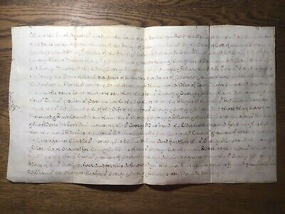 GB DOCUMENT on VELLUM/ PARCHMENT, FINAL COURT AGREEMENT at WESTMINSTER, 1777