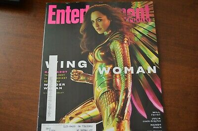ENTERTAINMENT WEEKLY- MAGAZINE- March 2020- Dbl Issue- GAL GADOT WING WOMAN- New