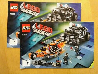 Lego Movie Super Cycle Chase 70808 10 00 Picclick Uk
