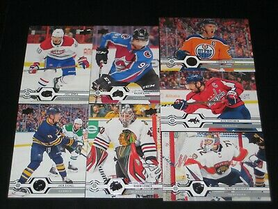 2019/20 '19/20 Upper Deck SERIES 2 base cards *pick from list* #251-450