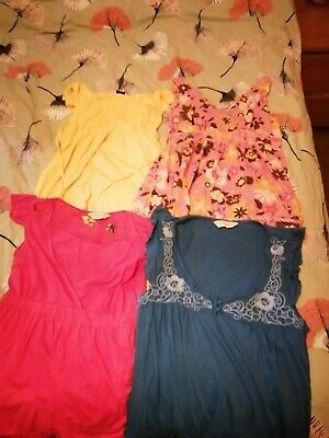 Maternity clothes size 12 bundle of 4 Dorothy perkins maternity tops 😁💞