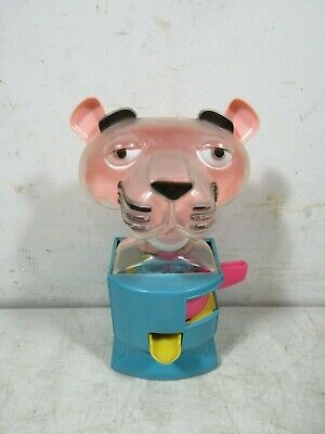 Vintage The Pink Panther Gumball Machine The Tarrson Co Chicago Toy Plastic