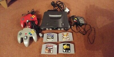 Nintendo 64 Controllers, Games  and a hdmi upscaler