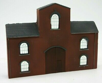 Detailed Model Railway Low Relief Factory For HO / OO   002