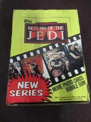 1983 Topps Star Wars: Return Of The Jedi X Out Wax Box Wb1533