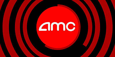 Qty: 1 Gift Certificate for AMC Theaters Black MOVIE TICKET w/ PIN use On Line