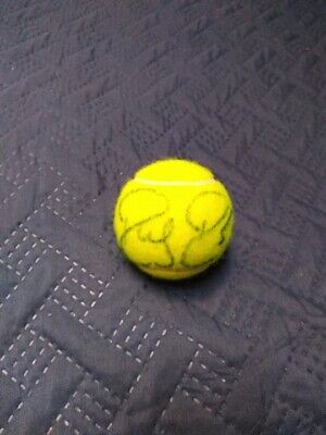 Roger Federer Authentic Signed Tennis Ball