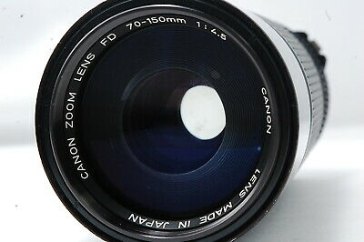 Canon ZOOM Lens NEW-FD 70-150mm F4.5 SN101760