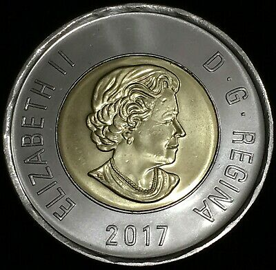 Brilliant Uncirculated 2014 Canada Lucky 1 Dollar From Mint/'s Roll