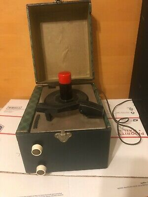 RCA VICTOR, CRESCENT Works Sound Good  VINTAGE 45 RPM RECORD PLAYER
