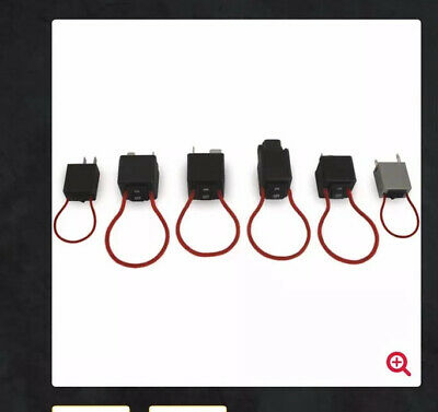 IPA 9038 6 Piece Master Fuel Pump Relay Bypass Switch Combo Set New Free Ship
