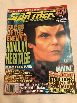 Vintage 1994 Star Trek Next Generation Magazine Vol.27