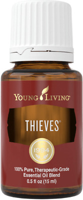 Young Living Thieves 15ml Essential Oils ~ New/Sealed 100% Pure *100%Authentic