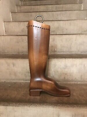 Tell City Chair Company Solid Hard Rock Maple Boot Bootmaker's Sign