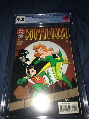Batman and Robin Adventures #8 CGC 9.8 7/96 Harley Quinn & Poison Ivy app