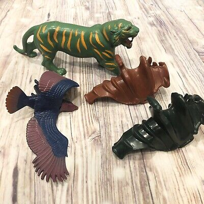 Vintage MotU HE-MAN BATTLE CAT Action Figure Lot Panthor Saddle Screech 1972 81