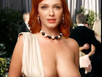 Christina Hendricks And Her Beautiful Boobs 8x10 Picture Celebrity Print