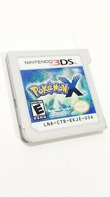 Pokemon X (3DS, 2013) CARTRIDGE ONLY - AUTHENTIC - WORKS