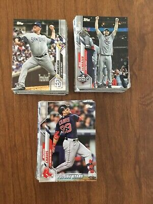 2020 Topps Baseball Series 1 Complete Your Set - Pick 20 From List