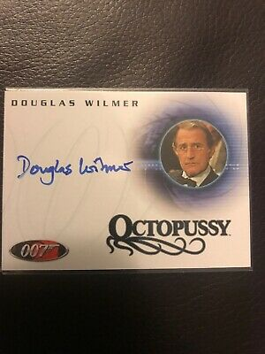 James Bond Douglas Wilmer as Jim Fanning in Octopussy Card A41 Auto