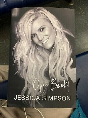 Open Book by Jessica Simpson (2020, Hardcover) First Edition New