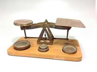 Vintage Letter Scales and Weights