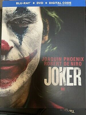 JOKER Blu Ray + DVD + Digital 2019 NEW. DON'T PAY $29! SUPPORT OUR VETS!