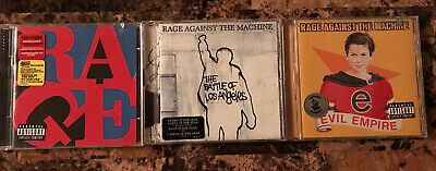 Rage Against The Machine 3 CDs Lot Battle Of - Renegade & Evil Empire Bonus Look