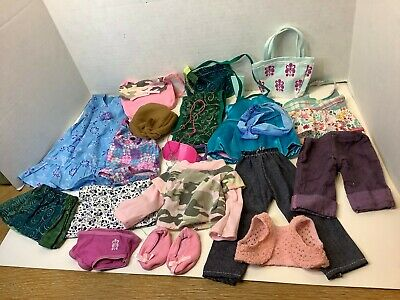 "Lot of American Girl Doll Clothes Outfits and Accessories for 18"" Dolls"