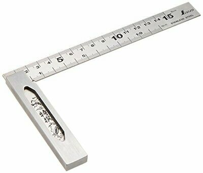 Shinwa Sokutei Rules 62009 Japanese Try Square 15cm For Inspection Of Angle