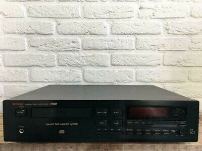 Luxman D-375 CD player (black / in excellent condition)