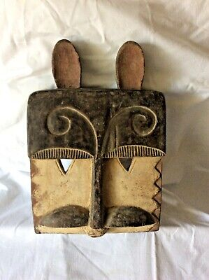 "Authentic African Tribal Mask ""Hare"" - Dogon - Mali Early 20th Century"
