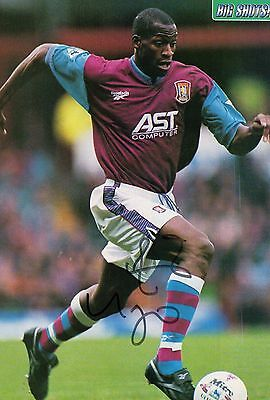 UGO HEGIOGU  deceased AUTOGRAPH ASTON VILLA  FOOTBALL