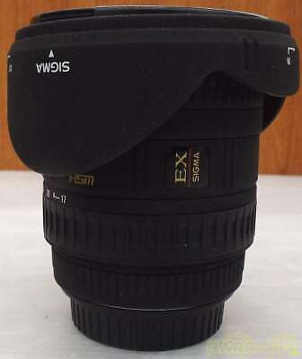SIGMA 17-35mm F2.8-4 Wide Angle Zoom Lens EX ASPHERICAL HSM