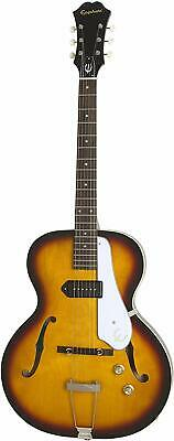 Epiphone ETCNVSNH1 Hollow-Body Electric Guitar, Vintage Sunburst