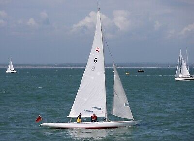 Daring - 5.5 metre one design sailing yacht based in East Cowes, Isle of Wight