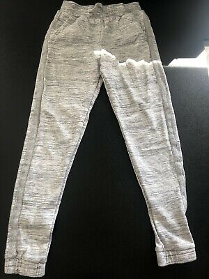 Grey Jogging Bottoms With Silver Stripe Girl's Age 10