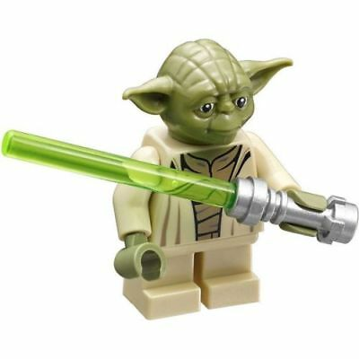 Lego Star Wars minifigure YODA WITH LIGHTSABER from 75168 75142 New