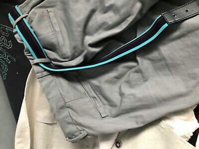 Boys chino next age 14 years trousers with ted baker belt