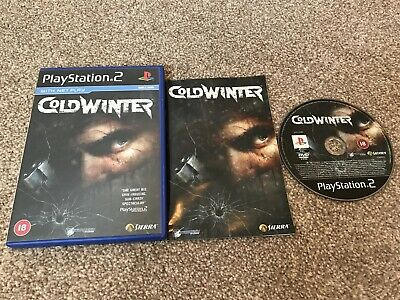 Cold Winter Sony Playstation 2 Ps2 Game With Manual Official Uk Pal Vgc